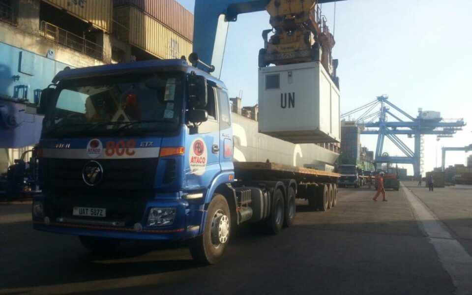 ATACO Freight Services UNMISS Project
